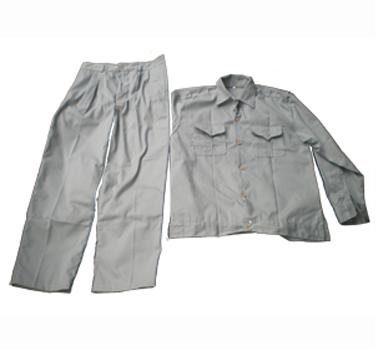 Bộ quần áo vải kaki dành cho cán bộ